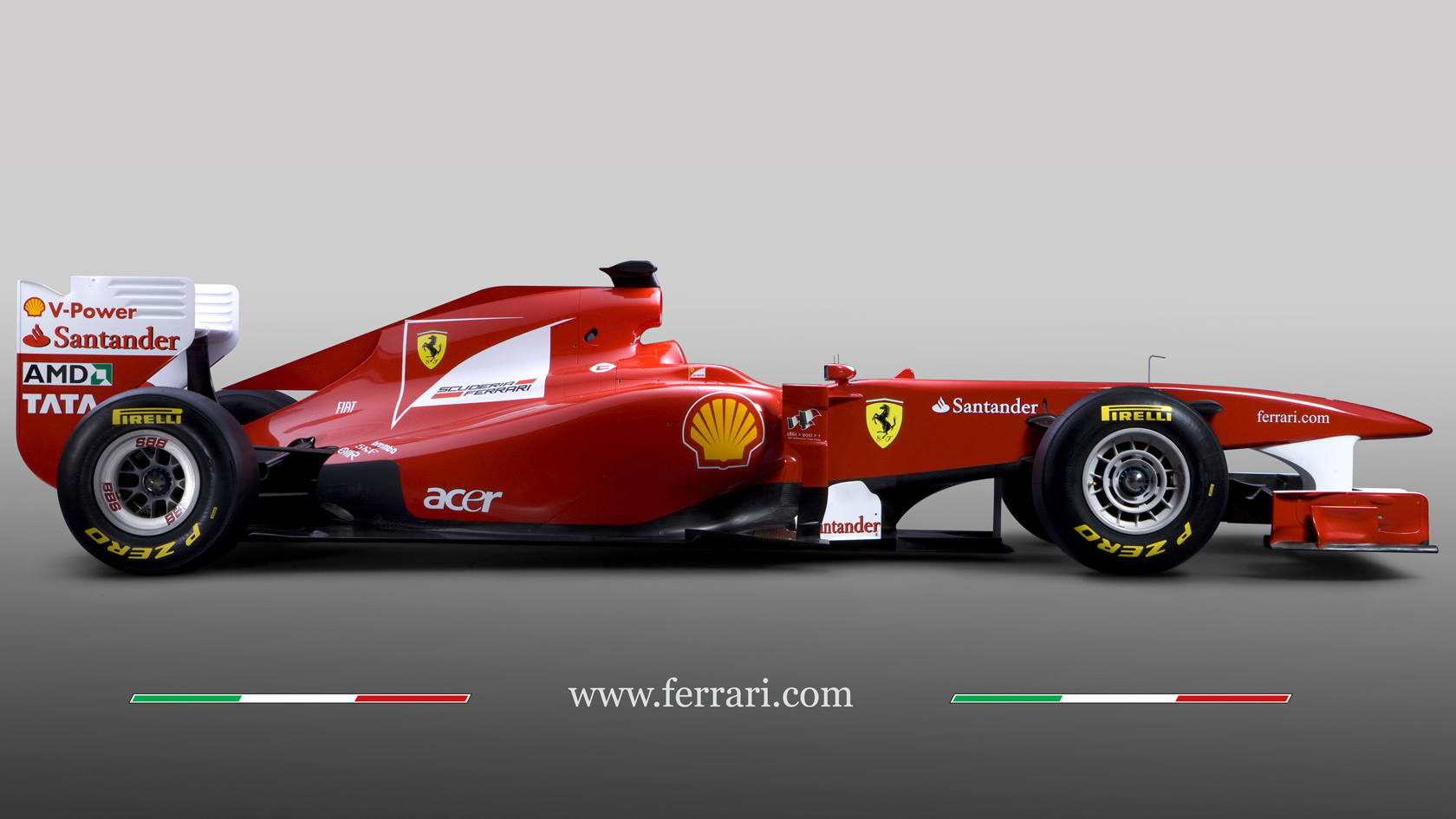 New Ferrari Livery Is Blue And Orange Formula One Colours